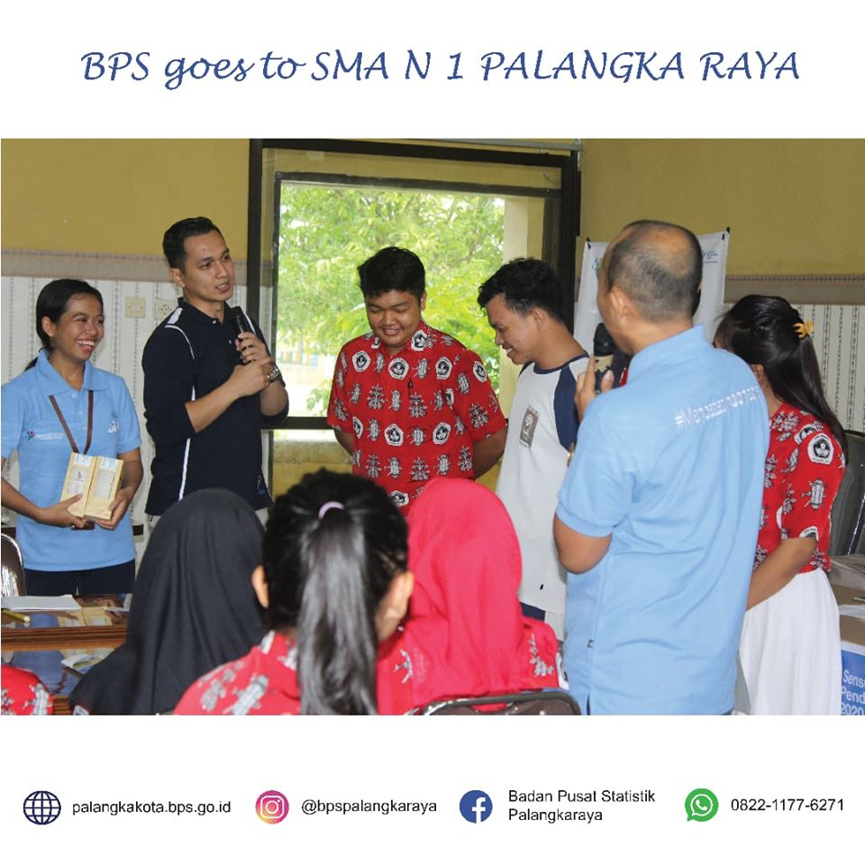 BPS Goes To SMAN 1 Palangka Raya